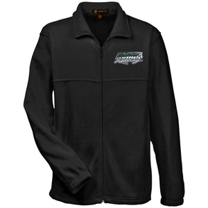 H57 Racing embroidered logo M990 Harriton Fleece Full-Zip