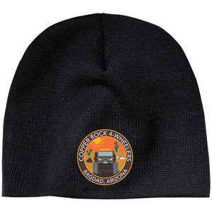 Copper Rock 4-Wheelers embroidered logo CP91 100% Acrylic Beanie