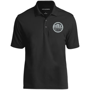 JeepNGypsies embroidered logo K110 Port Authority Dry Zone UV Micro-Mesh Polo