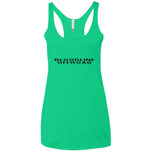 Bloodline Offroad NL6733 Next Level Ladies' Triblend Racerback Tank