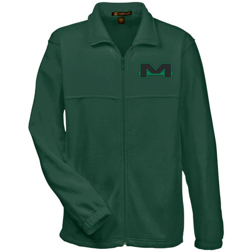 MOAB Motorsports embroidered M990 Harriton Fleece Full-Zip