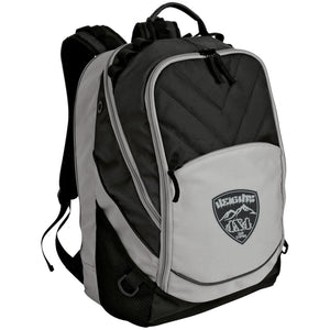 Heights 4x4 embroidered logo BG100 Port Authority Laptop Computer Backpack