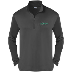 Hundt's Motorsports silver embroidered ST357 Sport-Tek Competitor 1/4-Zip Pullover