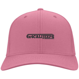 California Jeeps embroidered C813 Port Authority Flex Fit Twill Fullback Baseball Cap