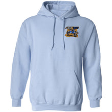 B&B Motorsports 2-sided print (Team Indiana back) G185 Gildan Pullover Hoodie 8 oz.