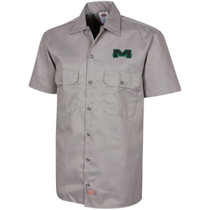 MOAB Motorsports embroidered 1574 Dickies Men's Short Sleeve Workshirt