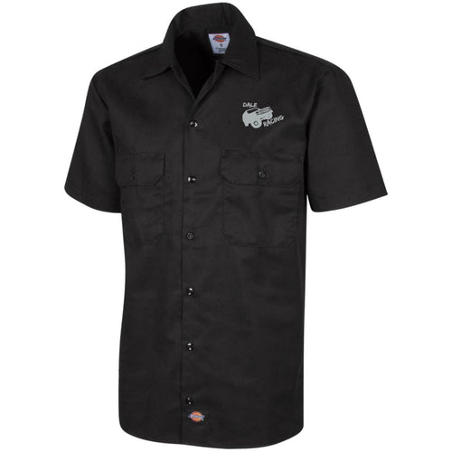 Dale Racing silver embroidered logo 1574 Dickies Men's Short Sleeve Workshirt