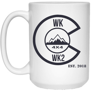 Colorado WK WK2 21504 15 oz. White Mug