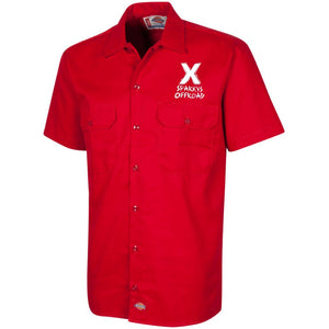 Sparky's Offroad embroidered 1574 Dickies Men's Short Sleeve Workshirt