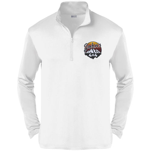 John's 4x4 embroidered ST357 Sport-Tek Competitor 1/4-Zip Pullover