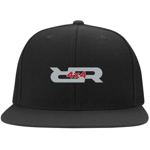 Rock Reaper embroidered 6297F Fullback Flat Bill Twill Flexfit Cap