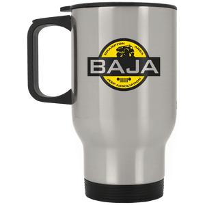 BAJA XP8400S Silver Stainless Travel Mug