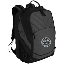 MWJT silver & black embroidered logo BG100 Port Authority Laptop Computer Backpack
