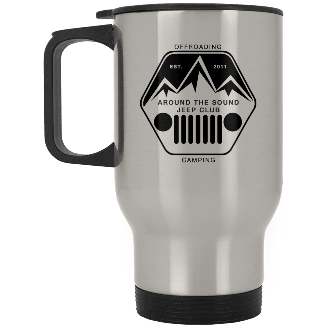 ASJC XP8400S Silver Stainless Travel Mug