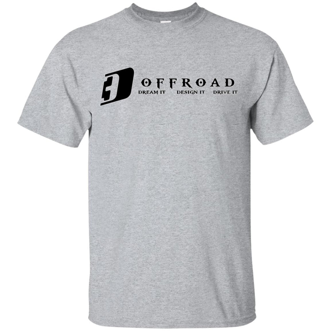 D3 Offroad white border G200B Gildan Youth Ultra Cotton T-Shirt