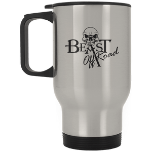 Beast Off-Road XP8400S Silver Stainless Travel Mug