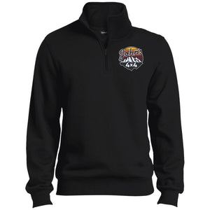John's 4x4 embroidered TST253 Sport-Tek Tall 1/4 Zip Sweatshirt