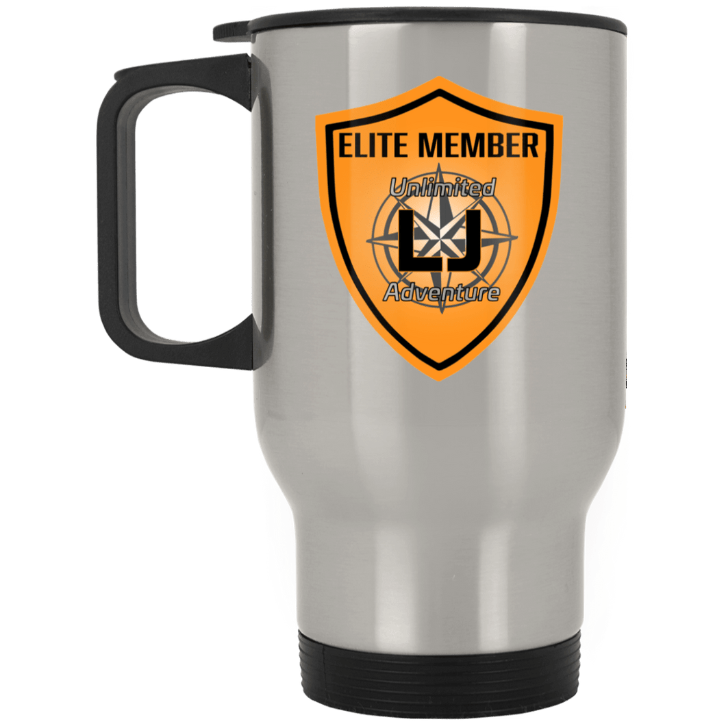 ULJA Elite Member XP8400S Silver Stainless Travel Mug