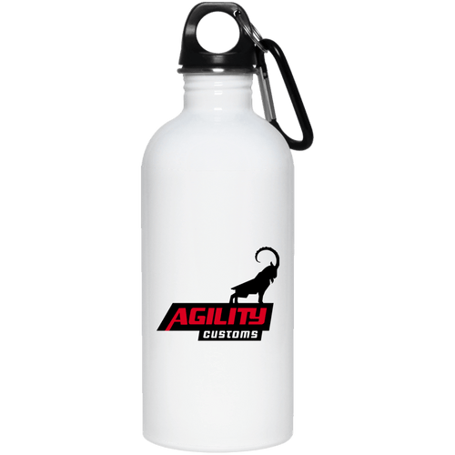 Agility Customs dye sub 23663 20 oz. Stainless Steel Water Bottle
