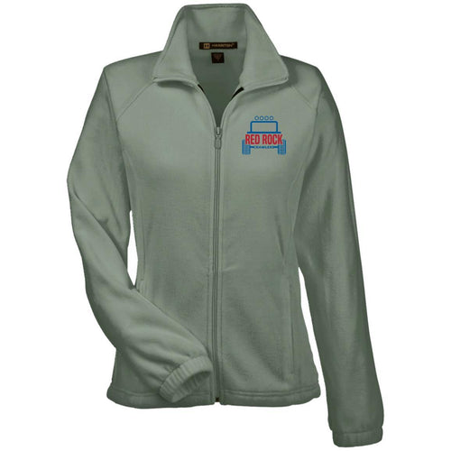 Red Rock Crawlers embroidered logo M990W Harriton Women's Fleece Jacket