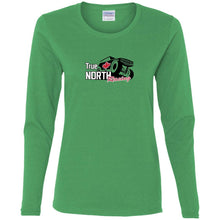 True North Racing G540L Gildan Ladies' Cotton LS T-Shirt
