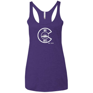 Colorado WK.WK2 NL6733 Next Level Ladies' Triblend Racerback Tank