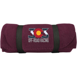 303 Off-road Racing embroidered logo BP10 Port & Co. Fleece Blanket