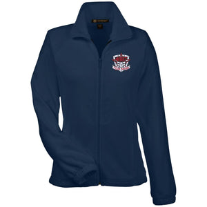 Tyler Racing embroidered M990W Harriton Women's Fleece Jacket