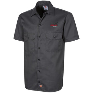 Agility Customs embroidered 1574 Dickies Men's Short Sleeve Workshirt
