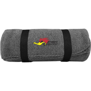 FOUL MOUTH RACING BP10 Port & Co. Fleece Blanket