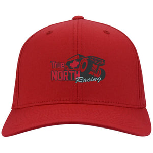 True North Racing embroidered C813 Port Authority Flex Fit Twill Fullback Baseball Cap