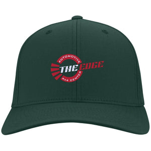 The Edge Automotive embroidered C813 Port Authority Flex Fit Twill Baseball Cap