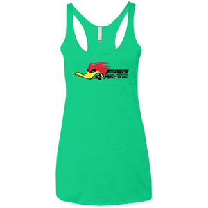 Foul Mouth Racing NL6733 Next Level Ladies' Triblend Racerback Tank