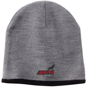 Agility Customs embroidered CP91 100% Acrylic Beanie