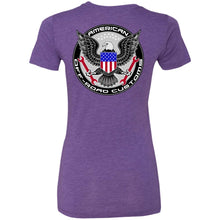American Off-Road 2-sided print NL6710 Ladies' Triblend T-Shirt