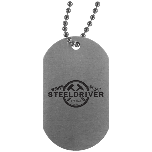 SteelDriver UN4004 Silver Dog Tag