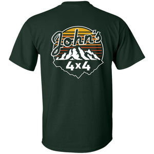John's 4x4 2-sided print G200B Gildan Youth Ultra Cotton T-Shirt
