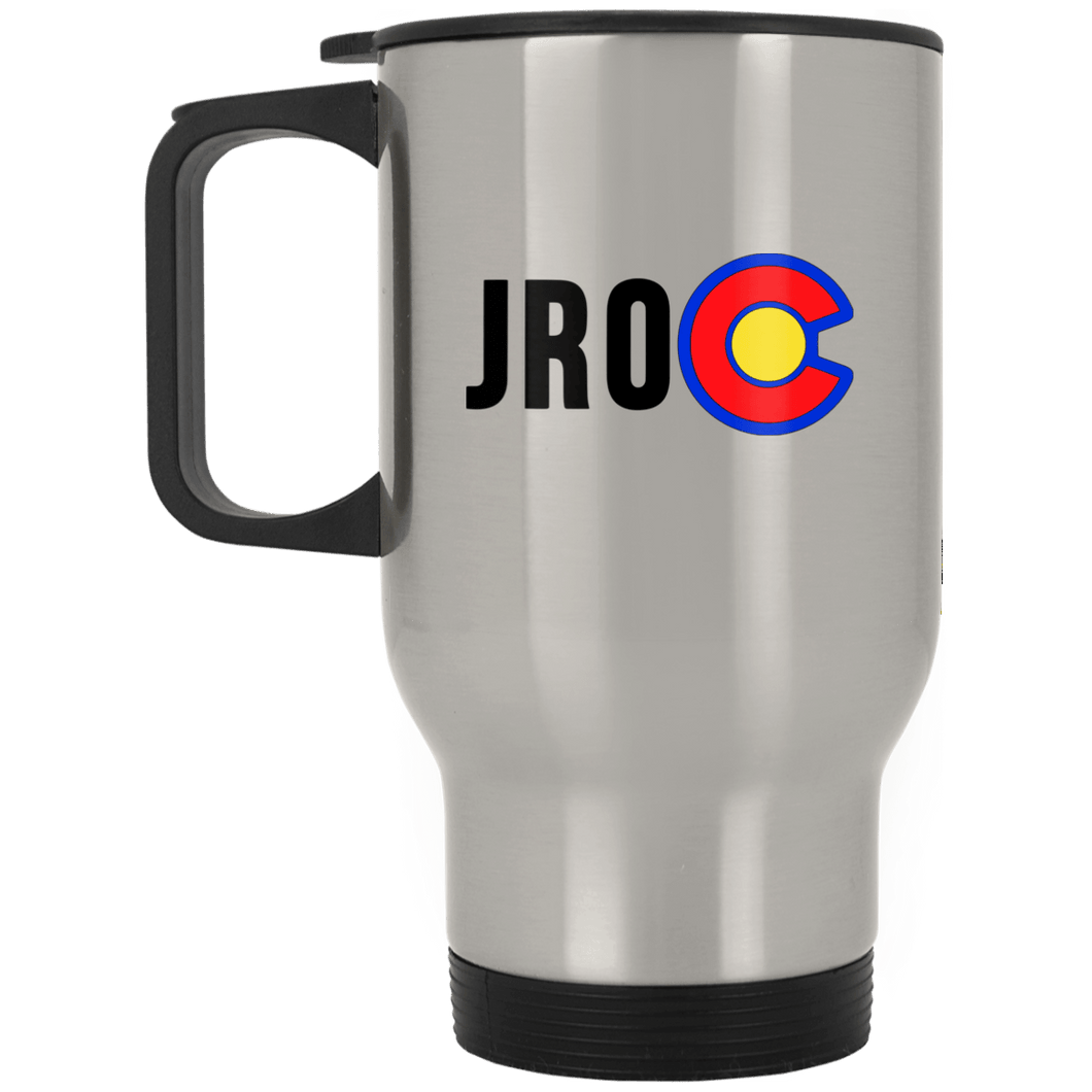 Jeep Renegades of Colorado XP8400S Silver Stainless Travel Mug
