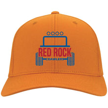 Red Rock Crawlers embroidered logo C813 Port Authority Fullback Flex Fit Twill Baseball Cap
