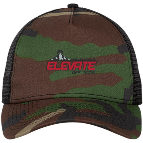Elevate Off-Road embroidered logo NE205 New Era® Snapback Trucker Cap