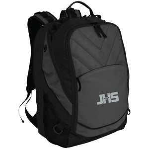 JHS silver embroidered logo BG100 Port Authority Laptop Computer Backpack