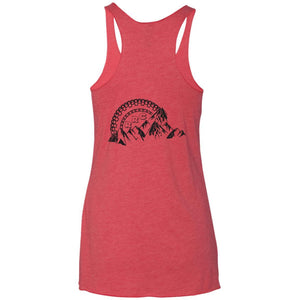 RRC 2-sided print NL6733 Next Level Ladies' Triblend Racerback Tank