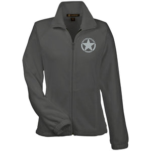 Colorado Combat Jeepers embroidered logo M990W Harriton Women's Fleece Jacket