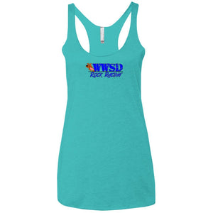 WWSD 2-sided w/ Team Indiana back NL6733 Next Level Ladies' Triblend Racerback Tank