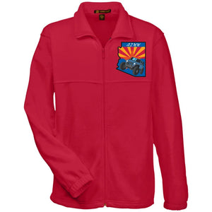 AZ Westside Wheelers embroidered M990 Harriton Fleece Full-Zip