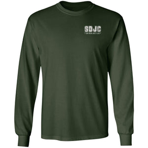 SDJC 2-sided print G240 Gildan LS Ultra Cotton T-Shirt