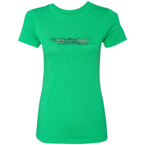 AmericanOffroadCustoms Horizontal NL6710 Ladies' Triblend T-Shirt