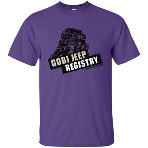 Gobi Jeep Registry Logo G200 Gildan Ultra Cotton T-Shirt