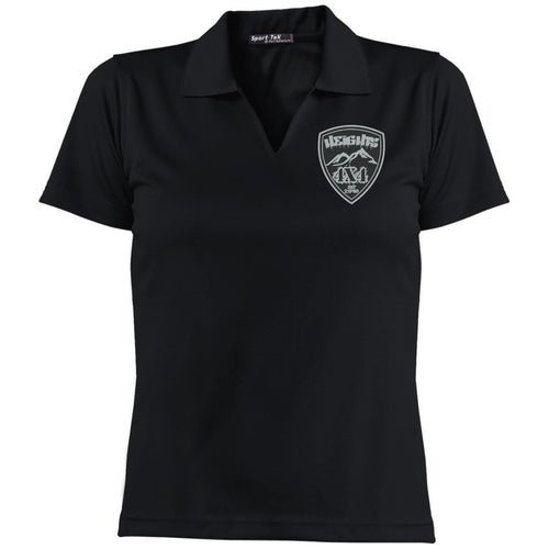 Heights 4x4 embroidered logo L469 Sport-Tek Ladies' Dri-Mesh Short Sleeve Polo