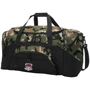 Tyler Racing embroidered BG99 Port & Co. Colorblock Sport Duffel